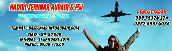 seminar program aupair indonesia jerman