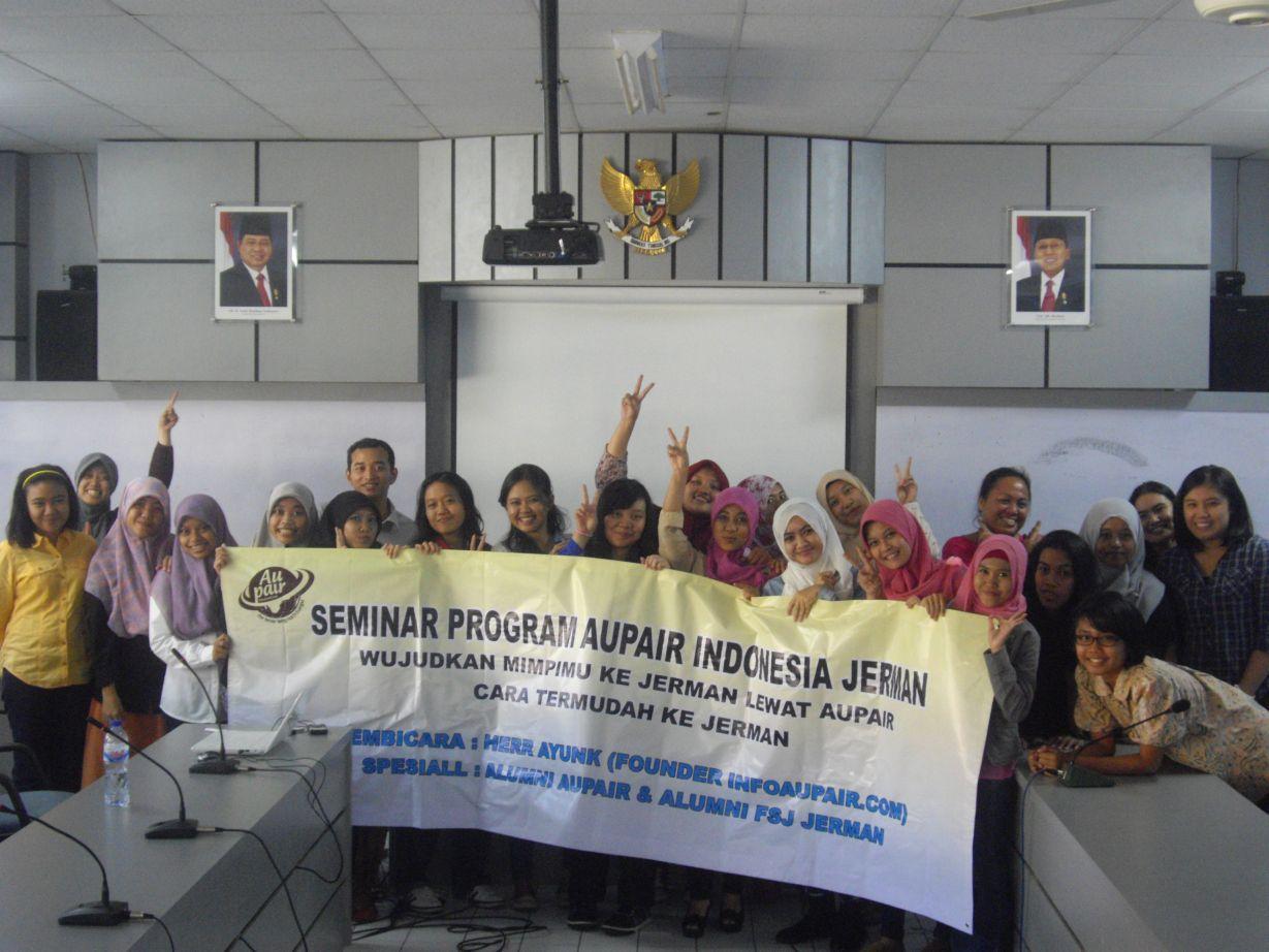 Seminar Program Aupair Makassar Maret 2015