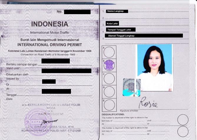 Cara Membuat Surat Izin Mengemudi (SIM) Internasional