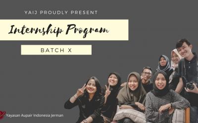 Program Magang Batch 10 – Free Program senilai 40 Jutaan !