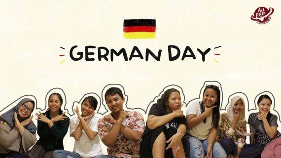 German Day : Kata Siapa Belajar Bahasa Jerman itu Ngebosenin?